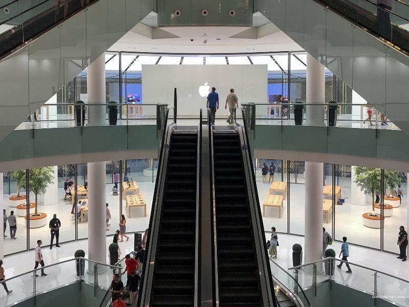 Le nouvel Apple Store de Dubai se dévoile sur deux étages