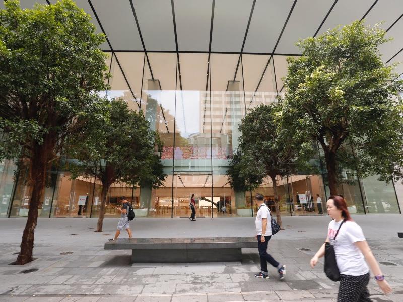 Apple Orchard Road se dévoile à Singapour