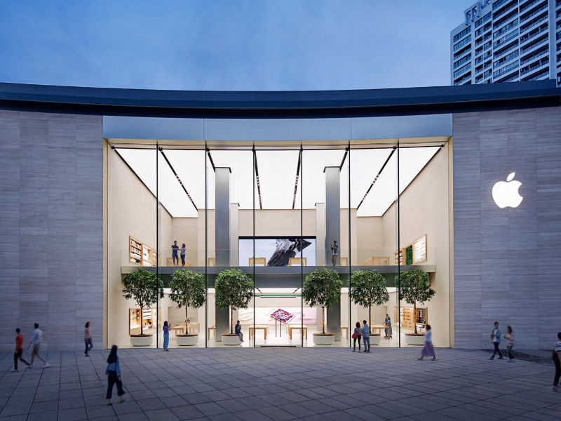 Un nouvel Apple Store massif en Chine