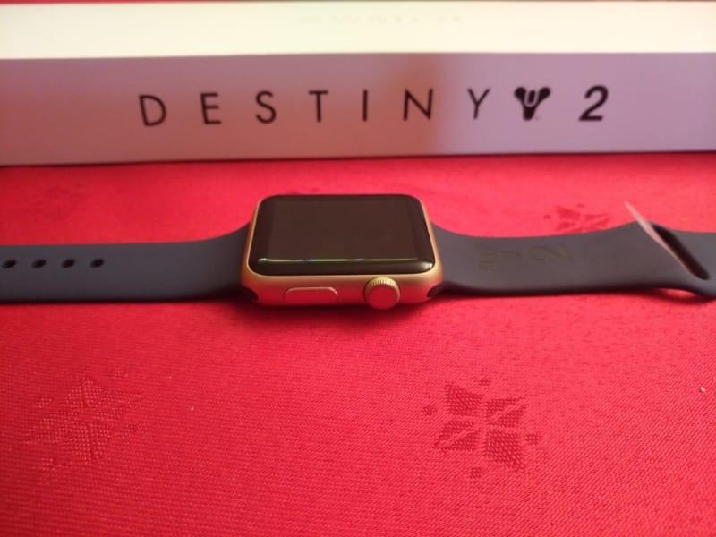Une Apple Watch joueuse pour Destiny 2