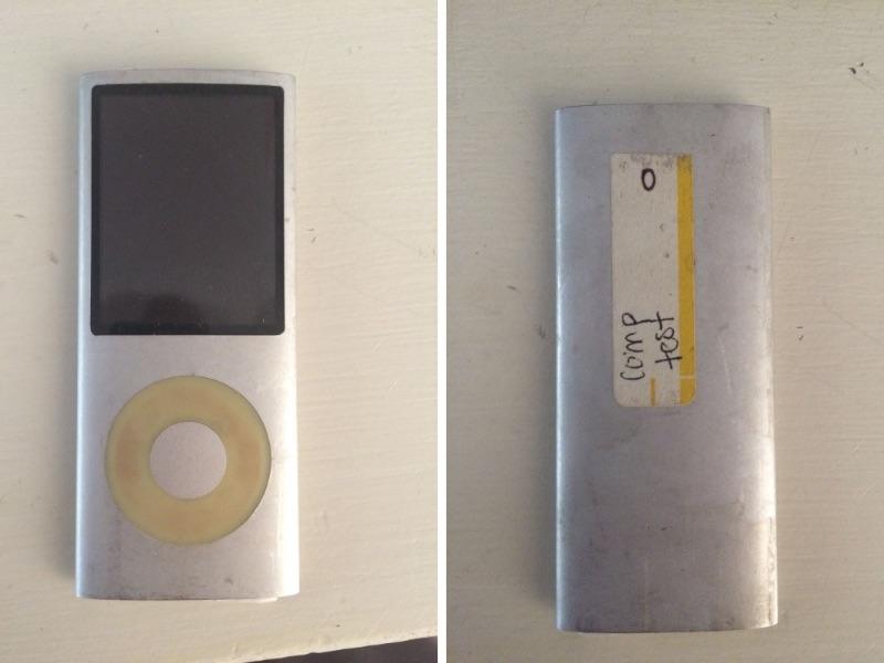 Un iPod nano encore bébé