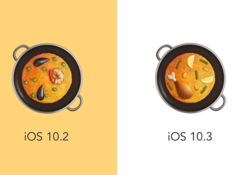 Apple corrige sa paella avec iOS10.3