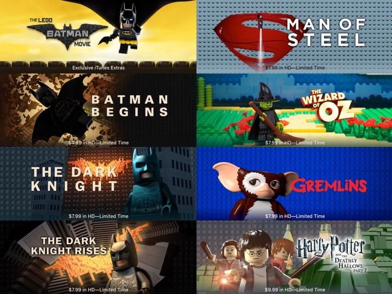 L'iTunes Store multiplie les briquettes pour Batman Lego