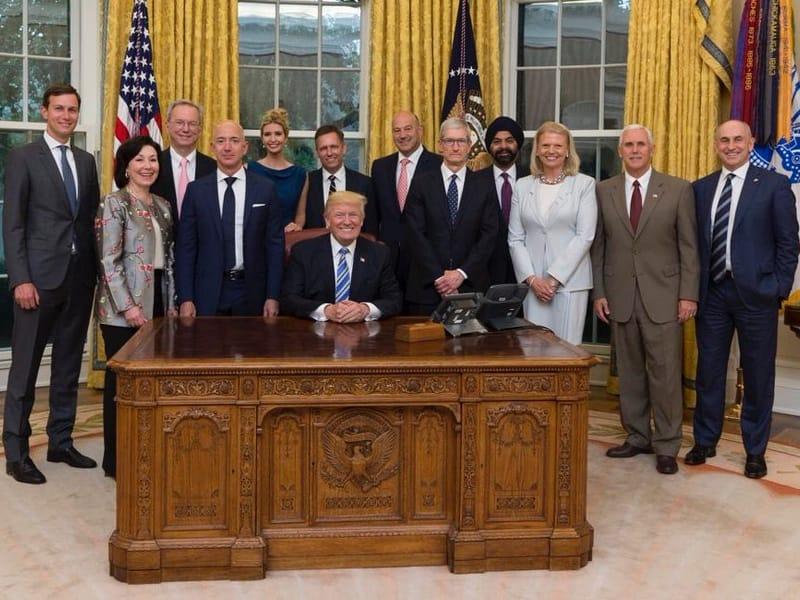 Les bureaux mythiques du bureau ovale de la maison blanche