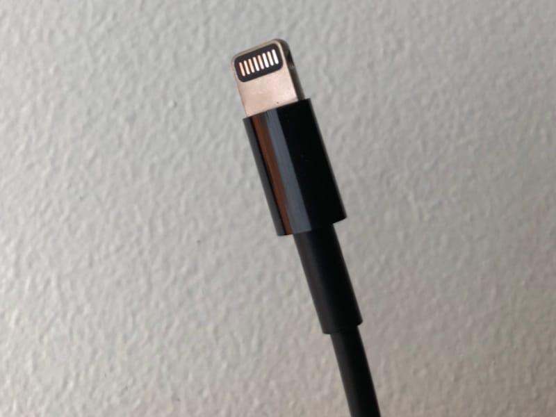 Le câble Lightning de l