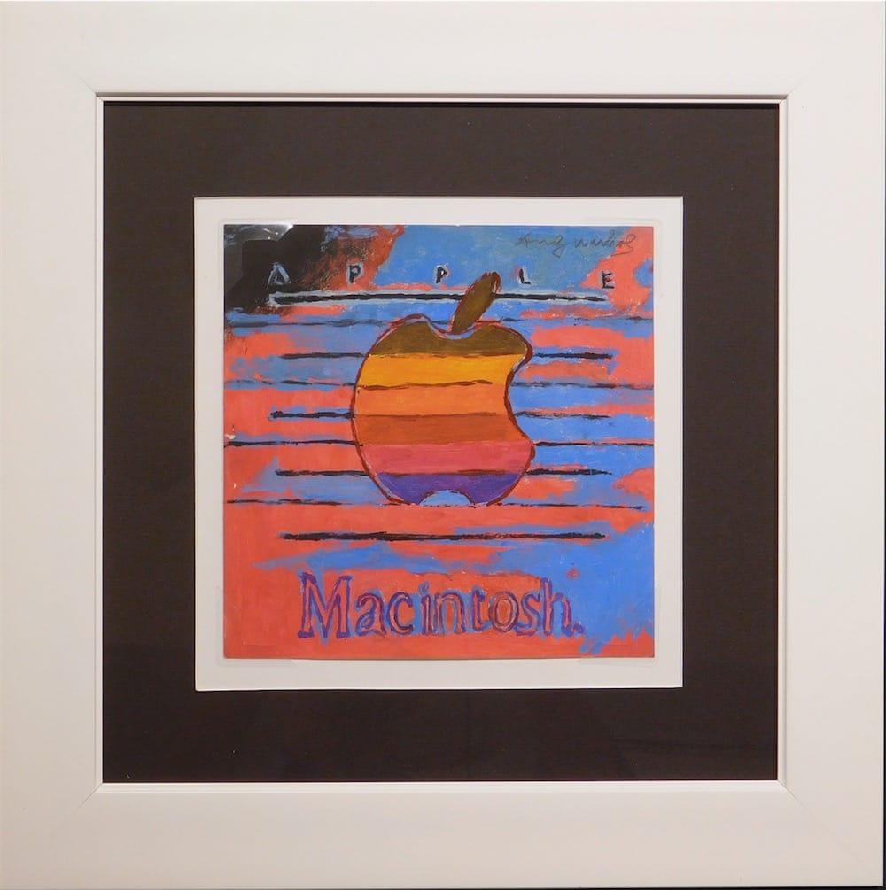 La Pomme d'Andy Warhol aux enchères