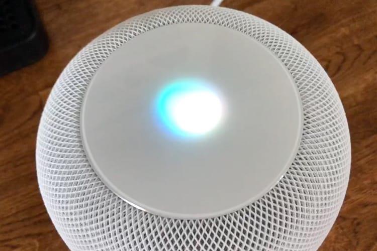 video en galerie : Le HomePod se contrôle au doigt et à la voix