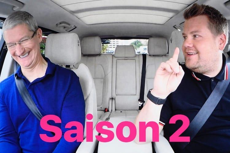 Apple renouvelle Carpool Karaoke pour une saison2