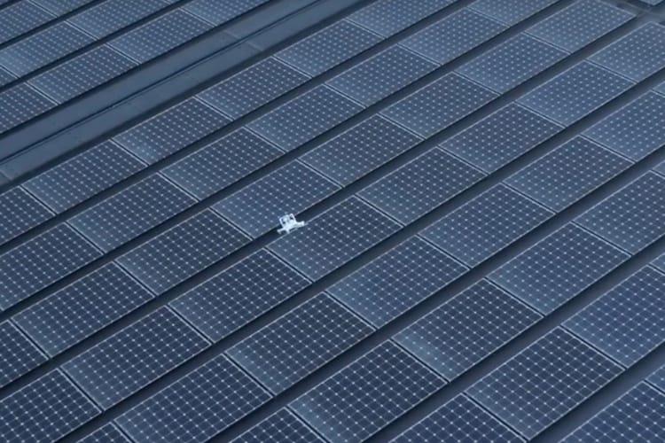 Chute de drone sur les toits d'ApplePark