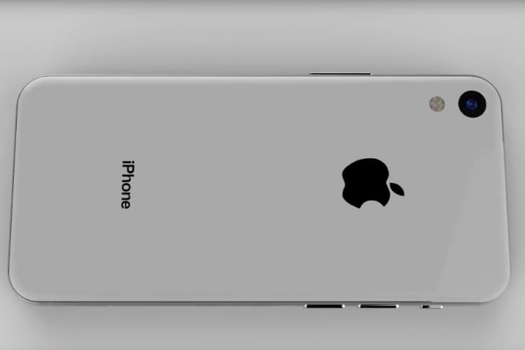 Un concept d'iPhone SE 2 mâtiné d'iPhone X