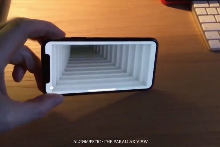 video en galerie : The Parallax View : l'app qui donne le vertige