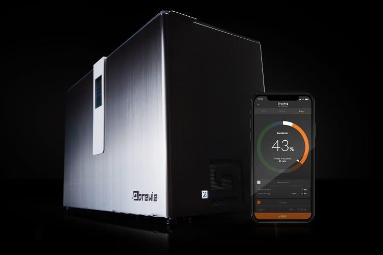 video en galerie : Brewie+, une machine pour brasser sa propre bière depuis son iPhone