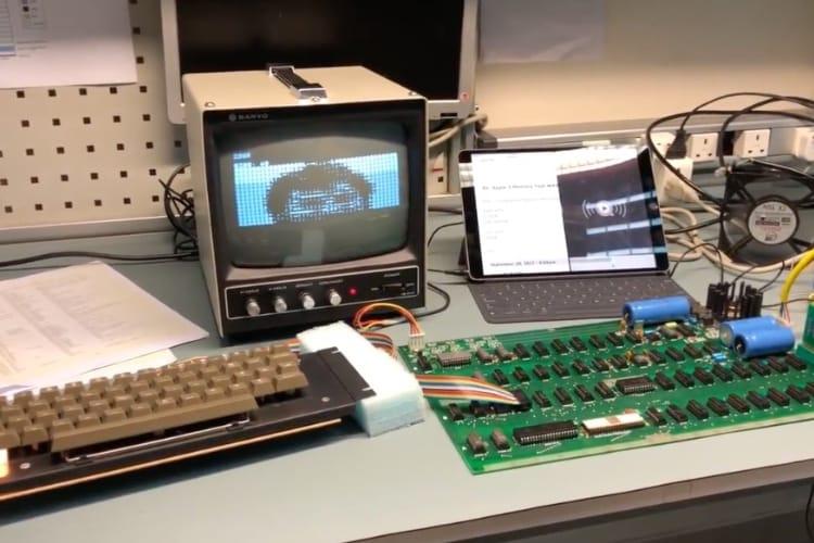 video en galerie : Pas d'obsolescence programmée pour l'Apple-1