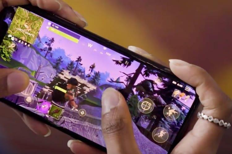 Une bande-annonce pour Fortnite Battle Royale sur iOS