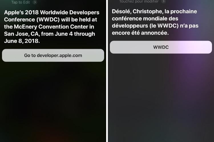 Image en galerie : Siri a un doute sur la prochaine WWDC