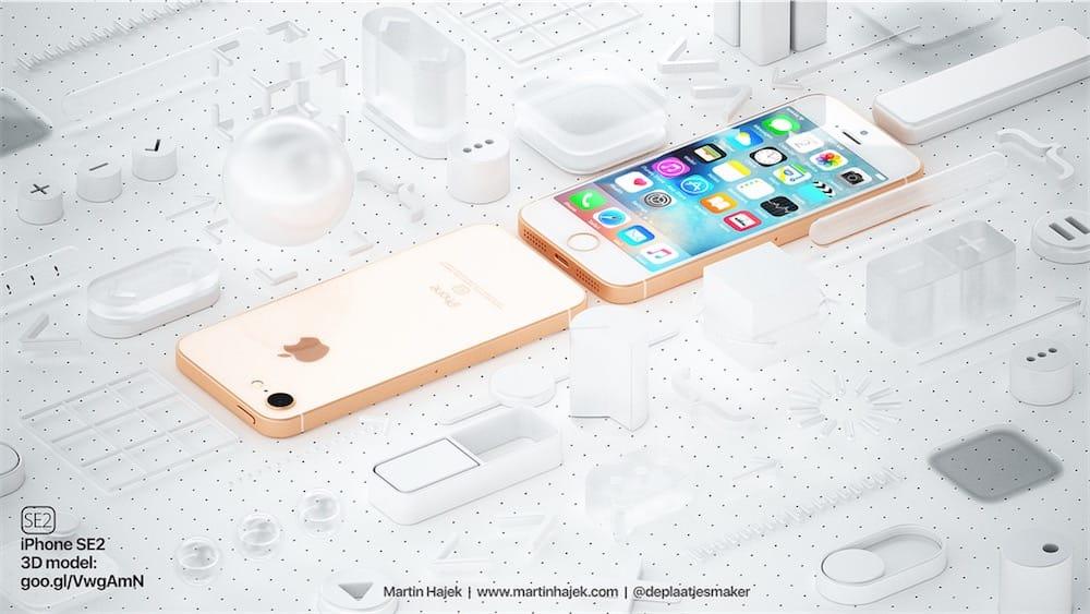 Concept: un iPhone SE2 plus proche de l'iPhone8