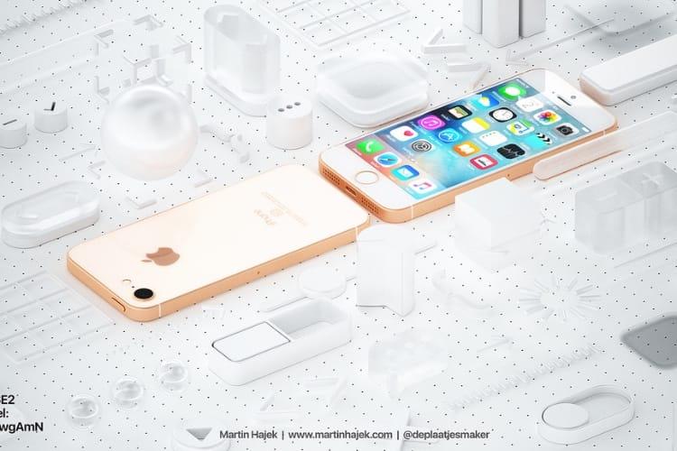 Image en galerie : Concept: un iPhone SE2 plus proche de l'iPhone8
