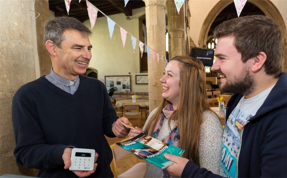 L'Église d'Angleterre est compatible Apple Pay