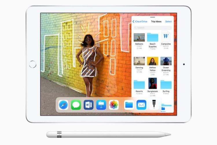 video en galerie : Une pub pour l'iPad 6e génération et l'Apple Pencil