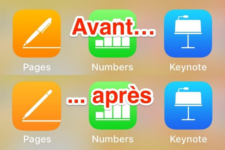 image en galerie : Apple met à jour le stylo de l'icône de l'app Pages