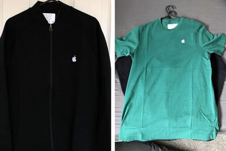image en galerie : Le t-shirt vert Apple pour le Jour de la Terre est arrivé