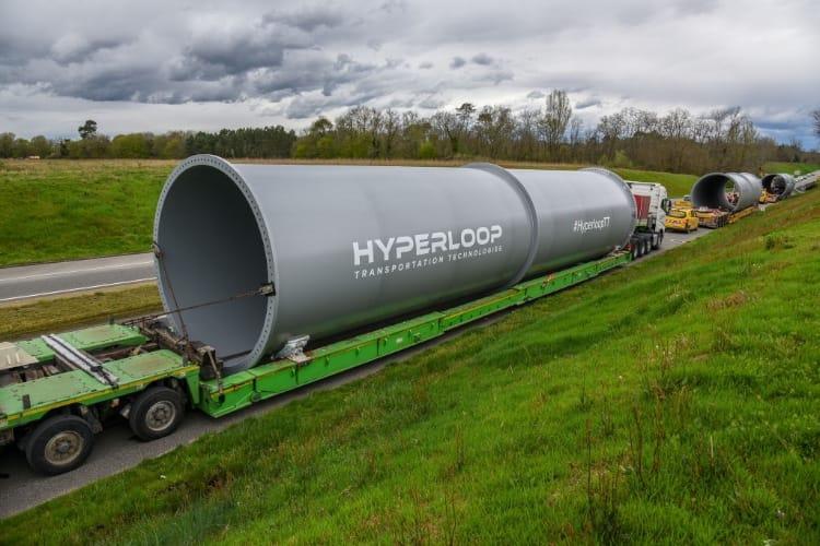 video en galerie : Hyperloop TT commence à construire sa piste toulousaine
