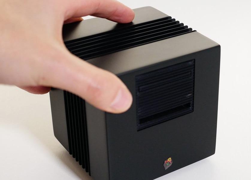 Cachez votre Raspberry Pi dans une mini station NeXT