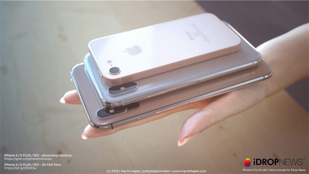 iPhone X Plus : faites de la place dans votre main