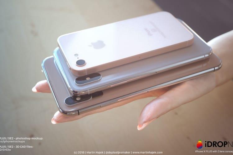 image en galerie : iPhone X Plus : faites de la place dans votre main