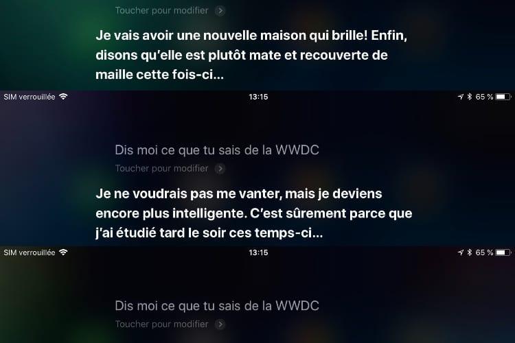Siri en vedette à la WWDC (ou peut-être pas)
