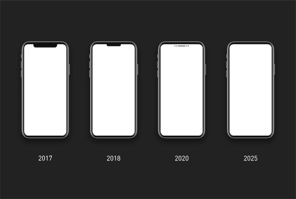 Un concept ambitieux pour éliminer l'encoche des iPhone
