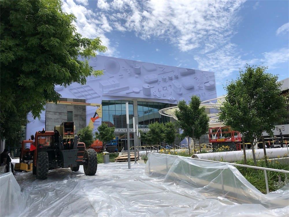 WWDC 2018 : le Convention Center de San Jose est presque prêt