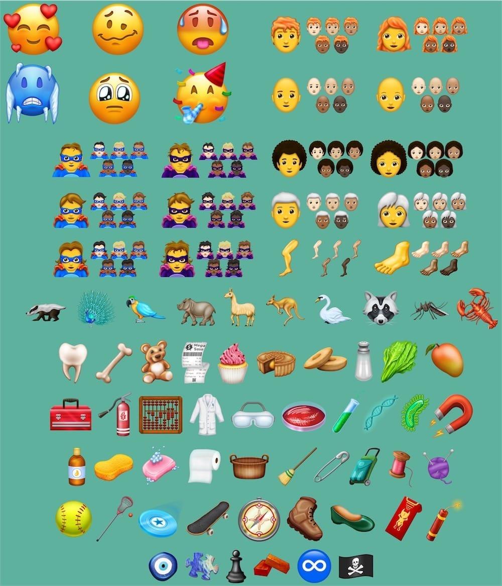 Emojis: la liste de nouveautés 2018 officialisée