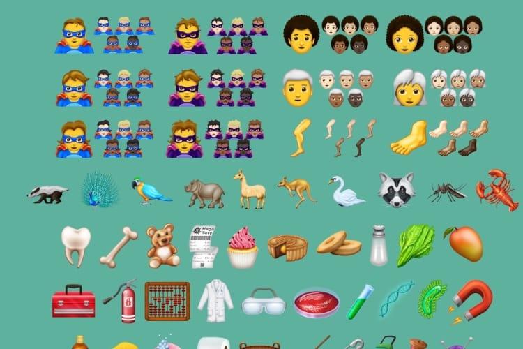 image en galerie : Emojis: la liste de nouveautés 2018 officialisée