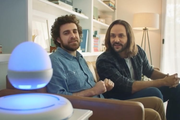video en galerie : Sonos se moque de Serge, l'enceinte qui flotte