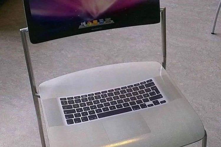 Apple s'assoit sur le Mac