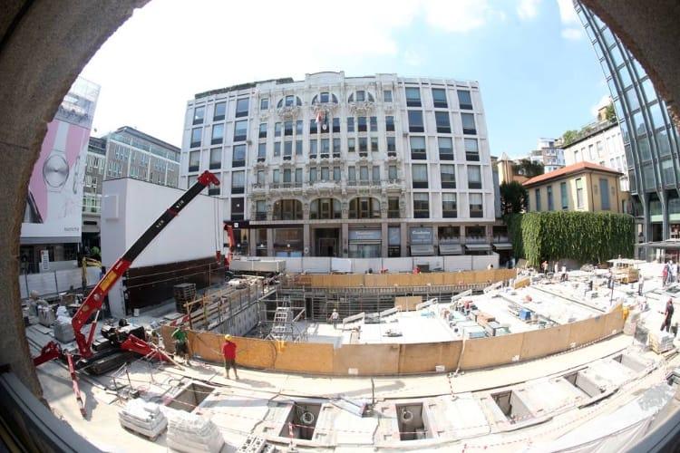 image en galerie : L'étonnant Apple Store de Milan ouvrirait en juillet