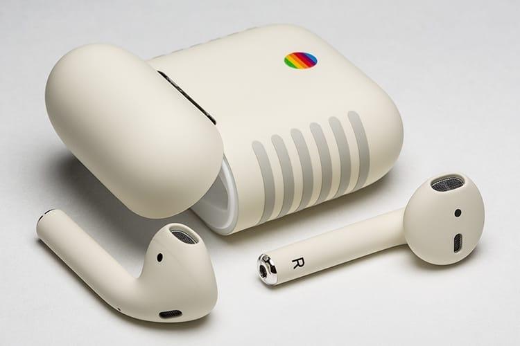 image en galerie : Des AirPods aux couleurs de l'Apple IIe…à 399$