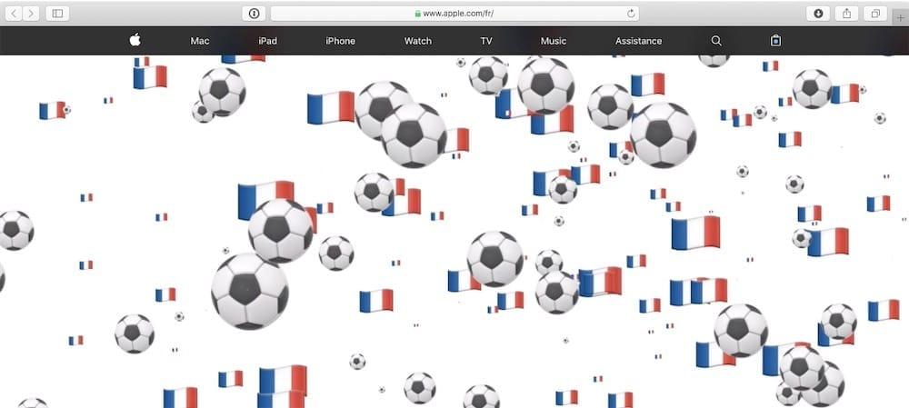 En ce 14-Juillet, Apple fête la France et le foot