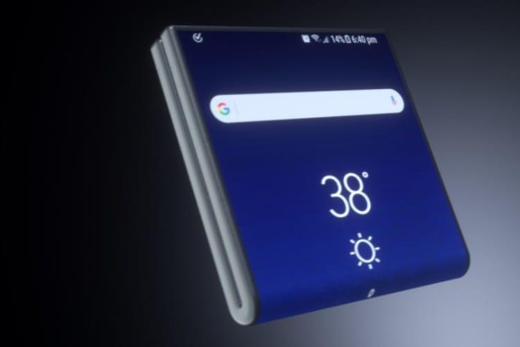 Le smartphone pliable de Samsung attendu en 2019 devrait coûter un bras