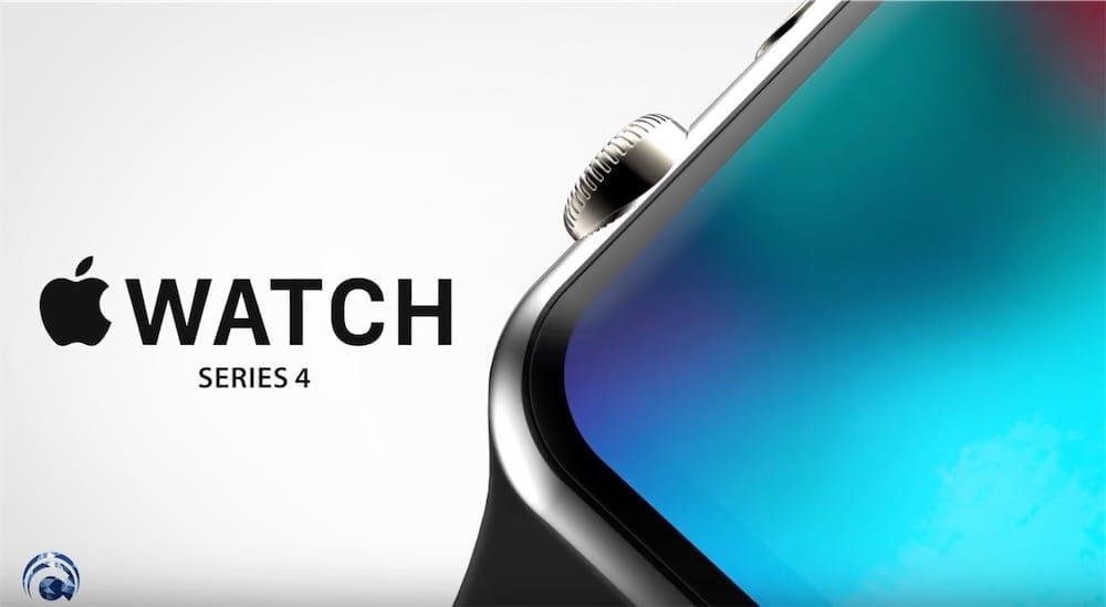 Concept : l'Apple Watch Series 4 est très jolie dans cette vidéo