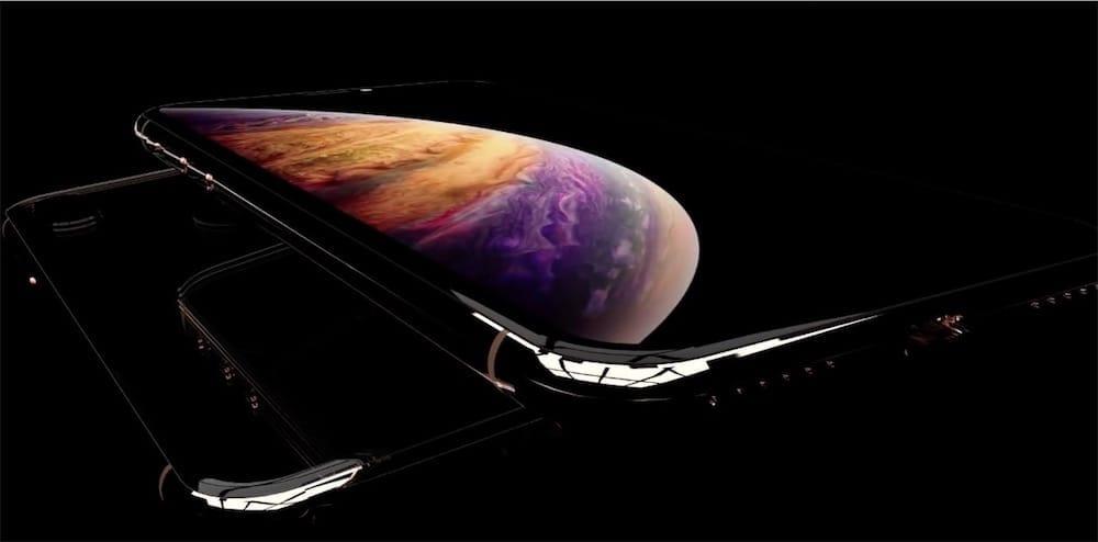 Après l'image, une vidéo-concept des iPhoneXS