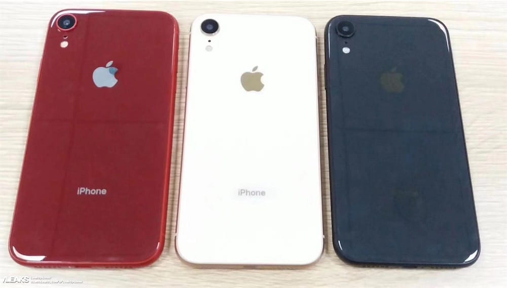 Les premiers visuels du prochain smartphone d'Apple — IPhone Xr