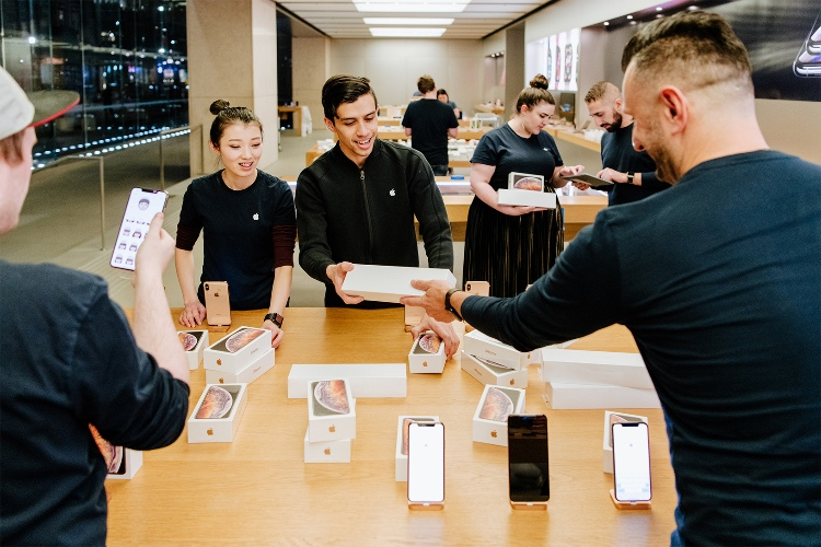 C'est jour de sortie de produits aujourd'hui chez Apple!