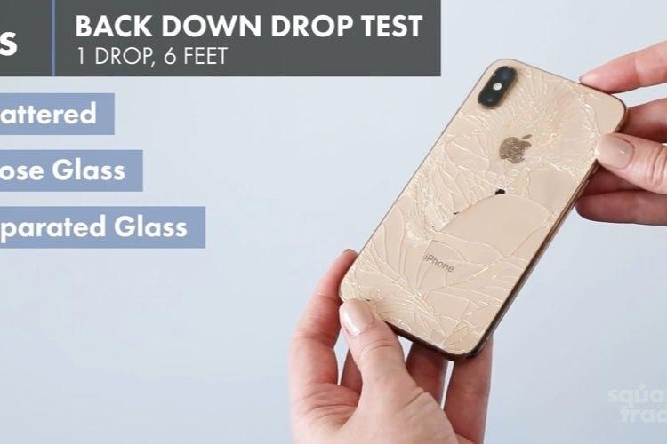 video en galerie : Les iPhone XS sont plus résistants que l'iPhoneX, mais ça ne suffit pas