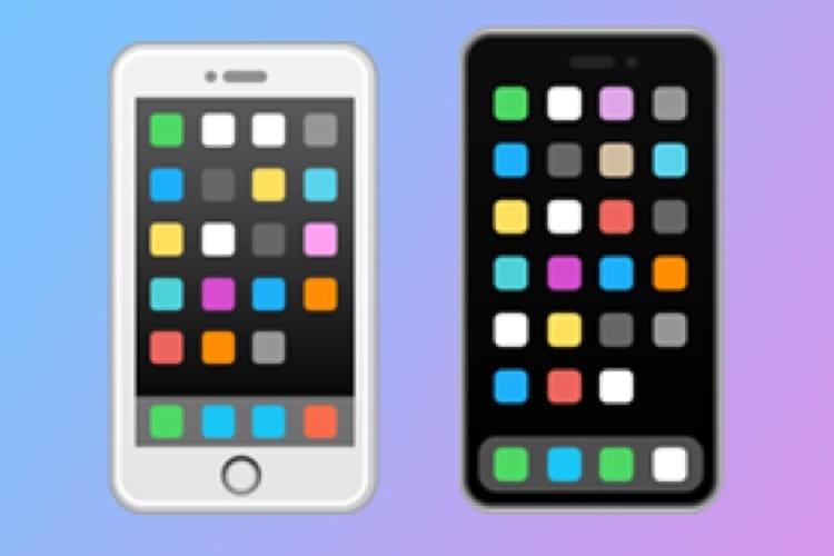 L'émoji 📱 abandonne son bouton Touch ID