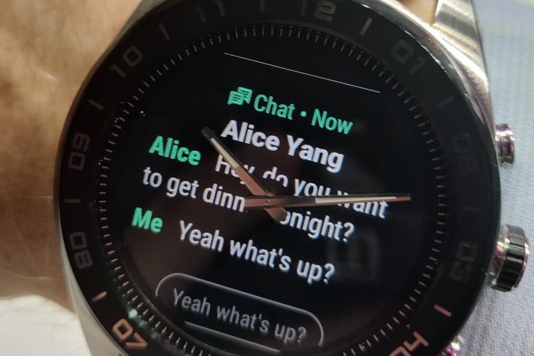 image en galerie : LG a eu une drôle d'idée pour sa nouvelle montre connectée
