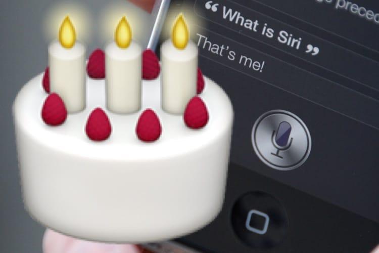 Siri a sept ans !