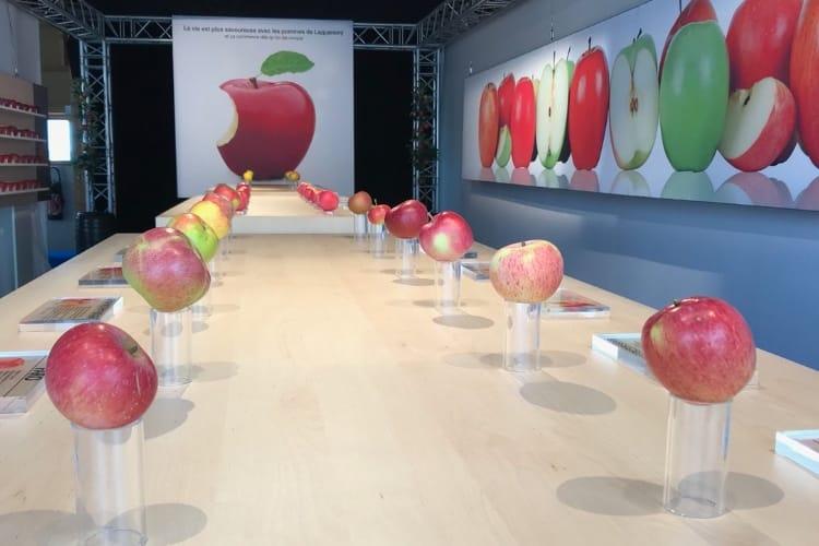 image en galerie : Un appétissant vrai/faux Apple Store en Moselle