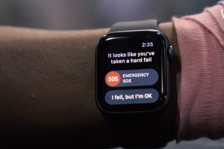 video en galerie : Un cascadeur professionnel pour activer la détection de chute de l'Apple Watch